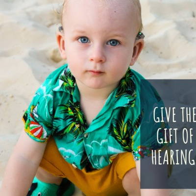 Give the gift of hearing!