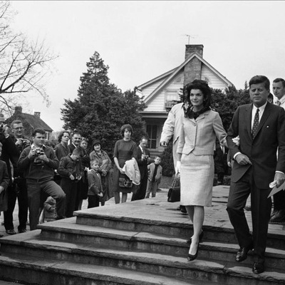 The Kennedys at the Community Center in 1962