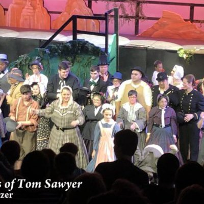 "Our 2019 ""TREASURES: The Musical Adventures of Tom Sawyer"" receives a standing ovation!"